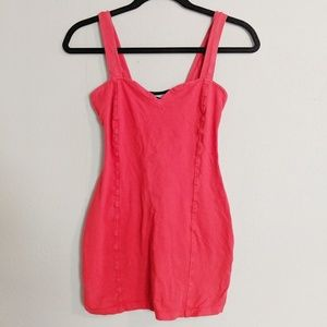 Urban Outfitters Red Bodycon Strappy Mini Dress